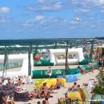 Atrakcje na plaży w Mielnie