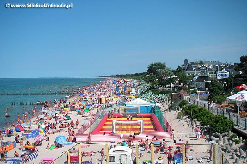 Mielno - plaża w Mielnie