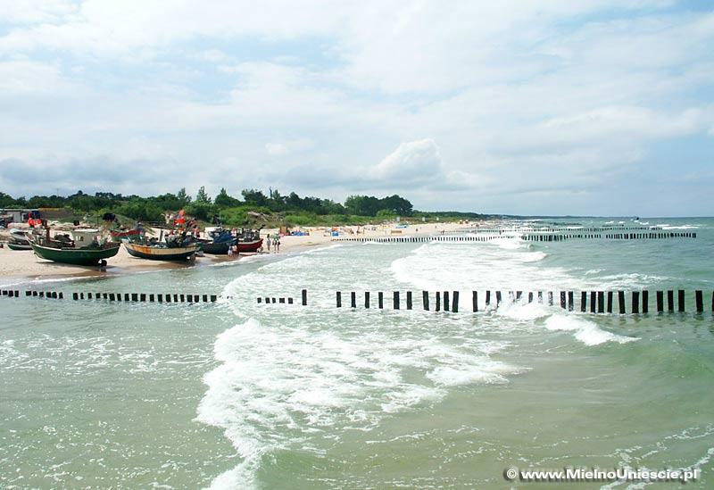 Plaża w Unieściu